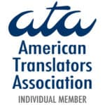American Translators Association member